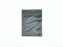 "Black Plastic Merchandise Bags, 10 x 13"""