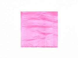 "Red Plastic Merchandise Bags, 8 1/2 x 11"""