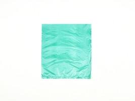 "Teal Green Plastic Merchandise Bags, 8 1/2 x 11"""