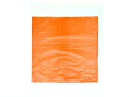 """Orange Plastic Merchandise Bags, 8 1/2 x 11"""""""