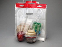Fast Take® Lunch Bags on Header Pack