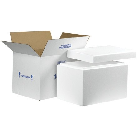 Insulated Shipping Kits, 19 x 12 x 15 1/2""