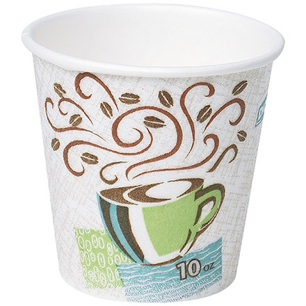 Dixie® Perfect Touch Insulated Cups, 10 oz.