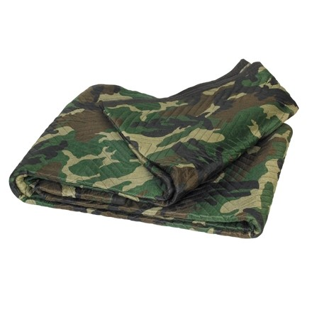 """Camouflage Moving Blankets, 72 x 80"""""""