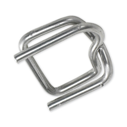 """Heavy-Duty 1/2"""" Metal Buckles for Poly Strapping"""