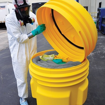 Spill Kit in Poly Drum, 95 Gallon