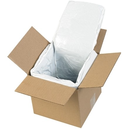Deluxe Insulated Box Liners, 6 X 6 X 6""