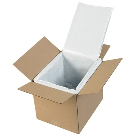 Deluxe Insulated Box Liners, 10 X 8 X 8""