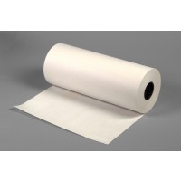 "Heavy Duty White Butcher Paper Roll, 40 #, 24"" x 1000'"