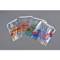"""Foil Delicious Cushion Bags, 6 x 5/8 x 6 1/2"""""""