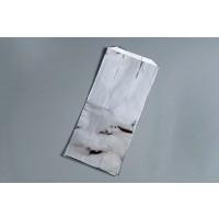 """Foil Quart Ice Cream Bags, 5 x 3 1/2 x 12"""""""