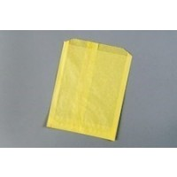 Yellow Sandwich Bags, 6 x 3/4 x 7 1/4""