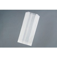 Gusseted Glassine Bags, 5 1/2 x 3 1/4 x 12""