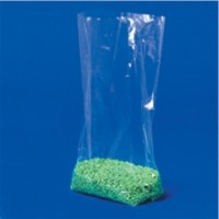 "Poly Bags, 5 1/4 x 2 1/4 x 15"", 1.5 Mil, Gusseted"