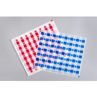 Red Checkered Paper Basket Liner Sheets, 12 x 10 1/2""