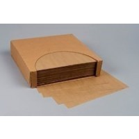 Grease Resistant Paper Sheets, Natural Kraft, 12 x 12""