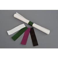 "Hot Pink Paper Napkin Rings, 6 x 1 1/2"""