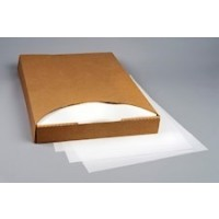 "White Pan Liners, Silicone Parchment Paper, 24 3/8 x 16 5/8"" Premium"
