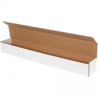 """Indestructo Mailers, White, 36 1/4 x 4 7/8 x 4"""""""
