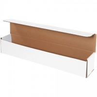 """Indestructo Mailers, White, 24 x 4 x 4"""""""