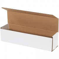 """Indestructo Mailers, White, 16 x 4 x 4"""""""