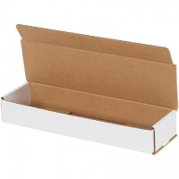 """Indestructo Mailers, White, 14 x 4 x 2"""""""