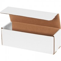 """Indestructo Mailers, White, 12 x 4 x 4"""""""