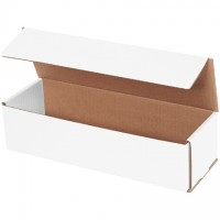 """Indestructo Mailers, White, 12 x 4 x 3"""""""