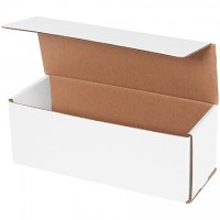 """Indestructo Mailers, White, 11 x 4 x 4"""""""