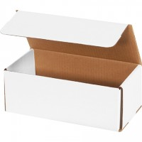 """Indestructo Mailers, White, 10 x 4 7/8 x 3 3/4"""""""