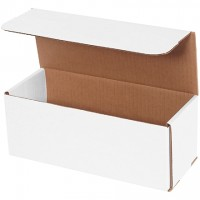 """Indestructo Mailers, White, 10 x 4 x 4"""""""