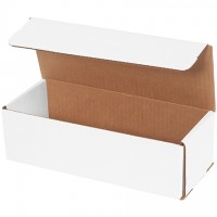"""Indestructo Mailers, White, 10 x 4 x 3"""""""