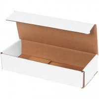 """Indestructo Mailers, White, 10 x 4 x 2"""""""
