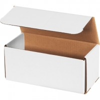 """Indestructo Mailers, White, 9 x 4 x 4"""""""