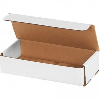 """Indestructo Mailers, White, 9 x 4 x 2"""""""