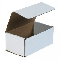 Indestructo Mailers, White, 7 x 4 x 3""