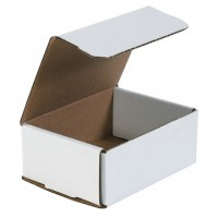 Indestructo Mailers, White, 6 1/2 x 4 7/8 x 2 5/8""