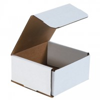 Indestructo Mailers, White, 6 x 6 x 3""