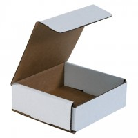 Indestructo Mailers, White, 6 x 6 x 2""