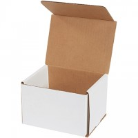 Indestructo Mailers, White, 6 x 5 x 4""