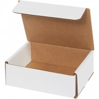 Indestructo Mailers, White, 6 x 5 x 2""