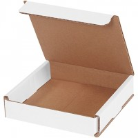 Indestructo Mailers, White, 5 x 5 x 1""