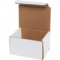 Indestructo Mailers, White, 5 x 4 x 3""