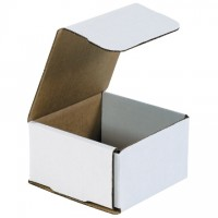 Indestructo Mailers, White, 4 3/8 x 4 3/8 x 2 1/2""