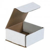 Indestructo Mailers, White, 4 3/8 x 4 3/8 x 2""