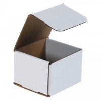 Indestructo Mailers, White, 4 x 4 x 3""