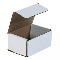 Indestructo Mailers, White, 4 x 3 x 2""