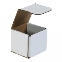 Indestructo Mailers, White, 3 x 3 x 3""
