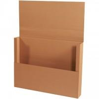 "Easy-Fold Mailers, Jumbo, Kraft, 40 x 30"""