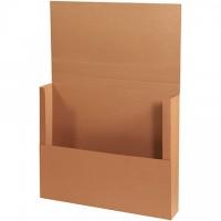 "Easy-Fold Mailers, Jumbo, Kraft, 36 x 30"""